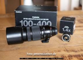 Test Fujifilm FUJINON XF100-400mm F4.5-5.6 R LM OIS WR