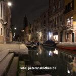 Venedig bei Nacht mit Shift-Objektiv 24mm