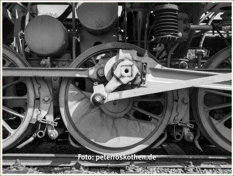 Lokomotive Räder