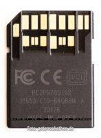 SD-Speicherkarte SCXC UHS-II