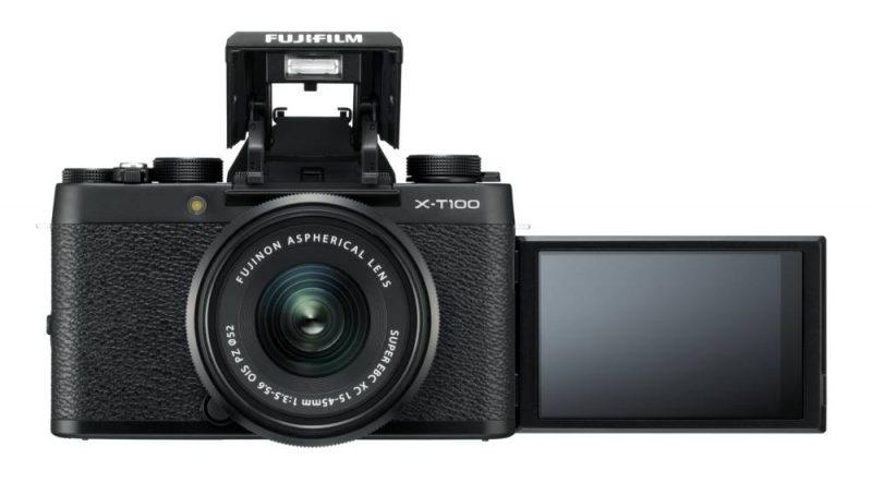 Fujifilm X-T100 in Schwarz