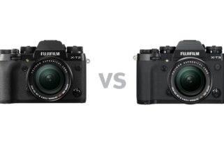 Fujifilm X-T2 versus X-T3 - Unterschiede und Vergleich