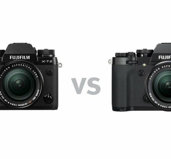 Fujifilm X-T2 versus X-T3 – Unterschiede und Vergleich