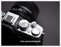 Intuitive Bedienung X-T3