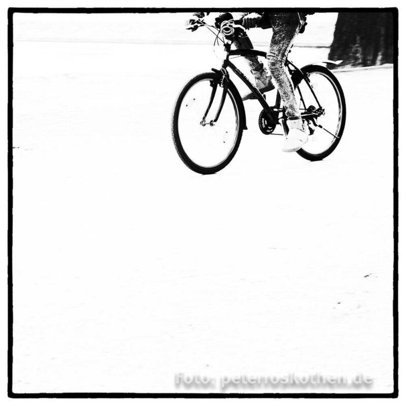 Strassenfotografie Schwarzweiß
