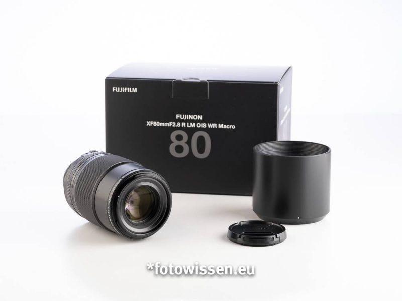 Fujifilm FUJINON XF80mm F2.8 R LM OIS WR Macro - Testbericht