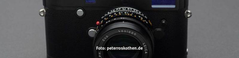 Fotokurs für Leica Fans