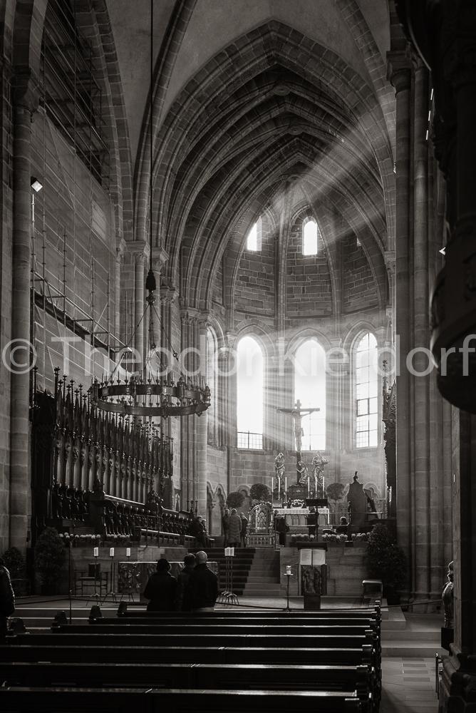 Erleuchtung im Bamberger Dom