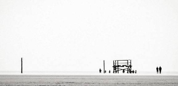 Spaziergang im Wattenmeer