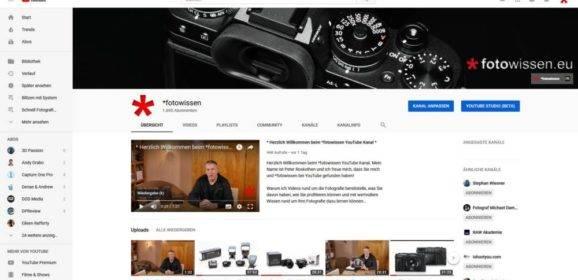 *fotowissen bei Youtube