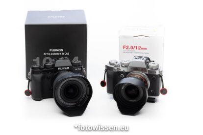 Große Weitwinkelobjektive für Fujifilm X-System – Test Fujifilm 10-24mm versus Samyang 12mm