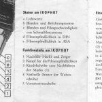Zeiss Ikon Ikophot Belichtungsmesser Gebrauchsanleitung Seite 4+5
