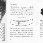 Zeiss Ikon Ikophot Belichtungsmesser Gebrauchsanleitung Seite 10+11