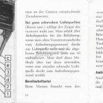 Zeiss Ikon Ikophot Belichtungsmesser Gebrauchsanleitung Seite 14+15