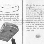 Zeiss Ikon Ikophot Belichtungsmesser Gebrauchsanleitung Seite 17+18