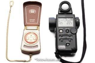 Belichtungsmessung – Belichtungsmesser – Objektmessung und Lichtmessung