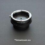 Canon Objektive an Fujifilm X-System mit Adapter EOS-FX