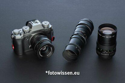 Drei billige Objektive für das Fujifilm X-System - Alternative mit Hilfe des M42-FX Adapters