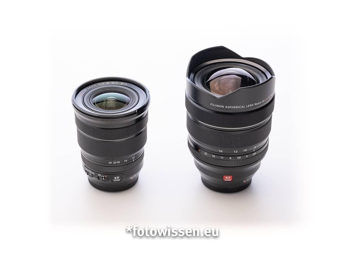 Fujifilm XF 10-24mm F4 versus Fujifilm XF 8-16mm F2.8