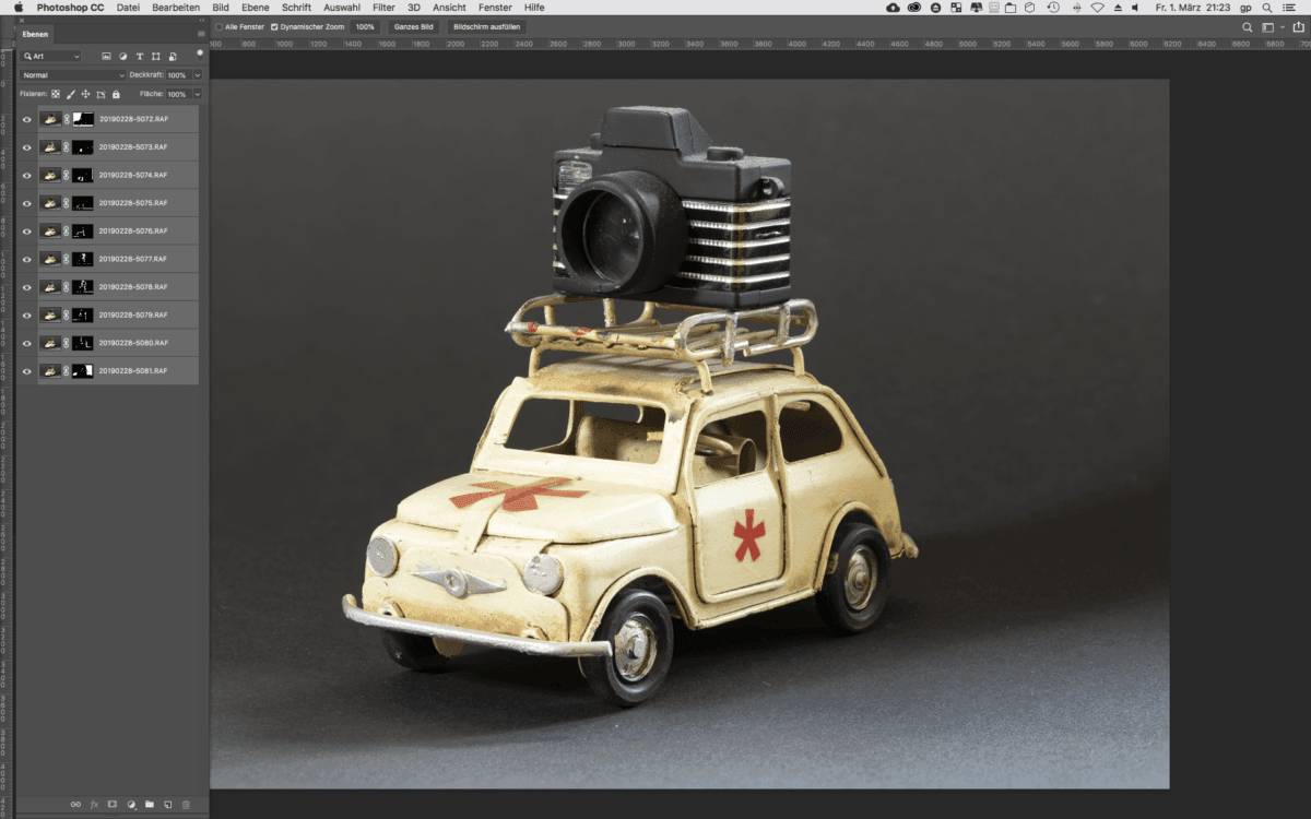 Focus-Stacking Software Photoshop