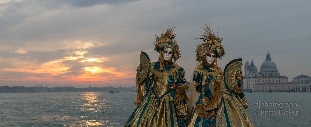 Karneval in Venedig 2019 - Teil 2 - Theresia und Fabrice