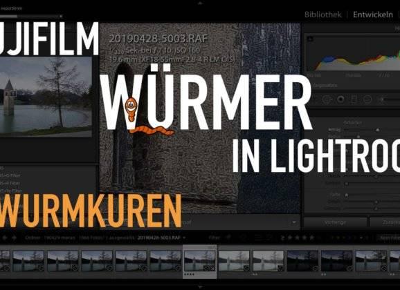 Fujifilm Wurmkur – Fuji Würmer in Lightroom – 7 Wurmkuren
