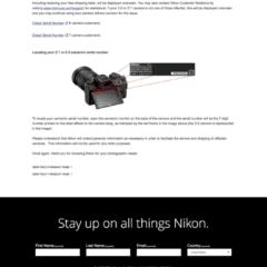 Nikon Rückruf für Z6 / Z7