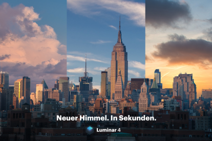 Luminar 4 - AI Sky Replacement