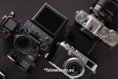 Die besten Fujifilm Kameras - X-System und GFX-System