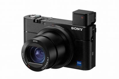 sony rx100va kompaktkamera sucher