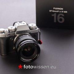 Test Fujifilm XF16mm F/1.4 R WR