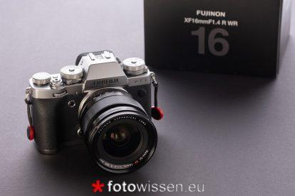 Grosser Test Fujifilm XF16mm F1.4 R WR Fujinon