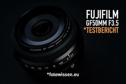 Das Fujifilm FUJINON GF50mm F3.5 R LM WR wird auch Pancake genannt - Test Fujifilm GF50mm F/3.5