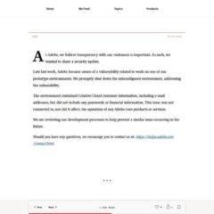 Adobe veröffentlicht 7.5 Mio. Kundendaten – Auch Ihre eMail-Adresse?