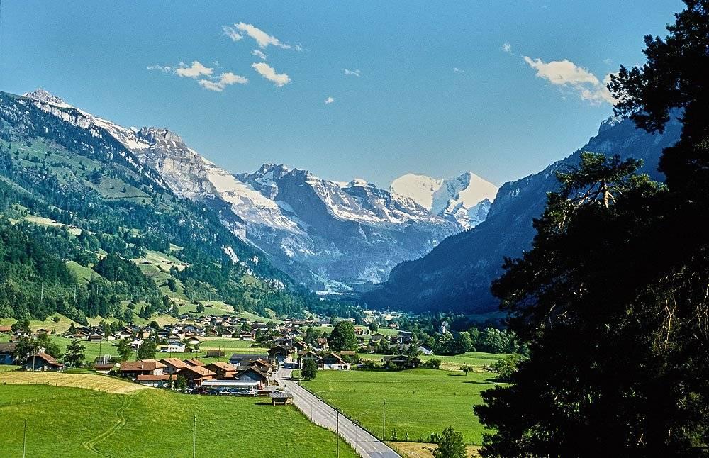 Blick zum Lötschberg