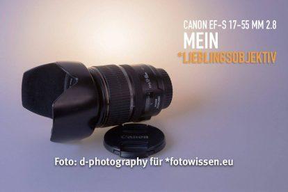 Canon EF-S 17-55 mm 2.8 IS USM Test - Mein Lieblingsobjektiv