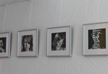 Hängung an Galerieschine