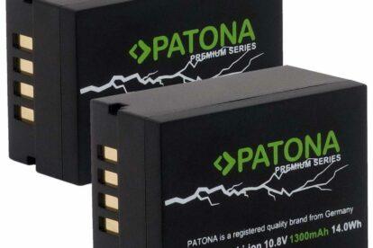 PATONA Premium Ersatz für Fujifilm NP-T125 Hochleistungsakku 14.0Wh - GFX 50S GFX 50R GFX 100