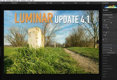 Luminar 4.1 Update - Schneller und besser