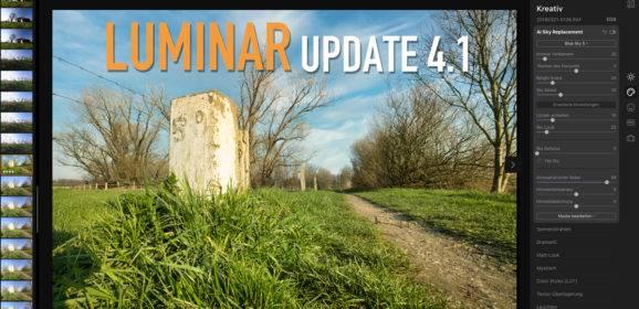 Luminar 4.1 Update schneller und mehr Funktionen