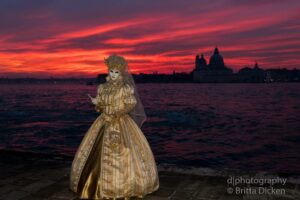 Karneval in Venedig 2019 Abend