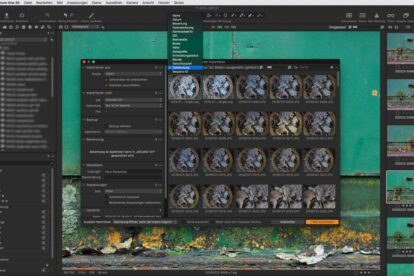 Capture One Pro Selektiver Bildimport JPG / TIF