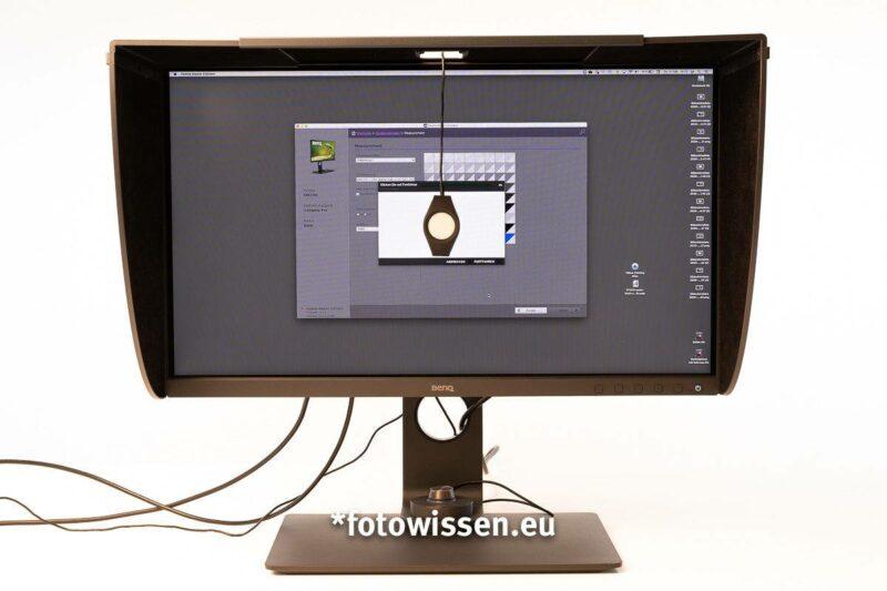 *fotowissen Test BenQ SW270C Monitorkalibrierung