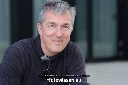 Fujifilm Filmsimulation für Portraits - Astia / Weich - Portrait Männlich