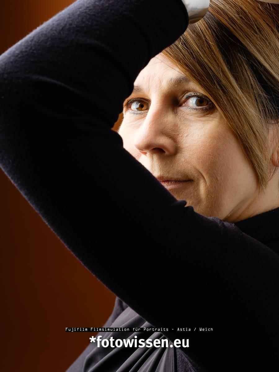 Fujifilm Filmsimulation für Portraits - Astia / Weich - Portrait Weiblich
