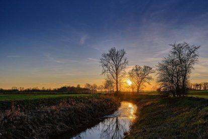 Sunset im Münsterland