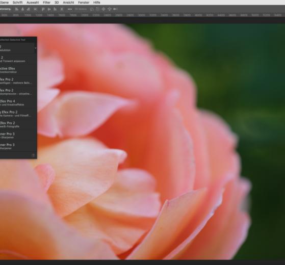 Nik Selective Tool - Palette in Photoshop - Nik Filter 3