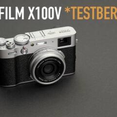 Test Fuji X100V