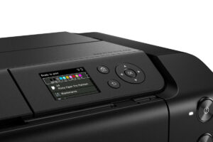 Canon imagePrograf Pro-300 Farbdisplay