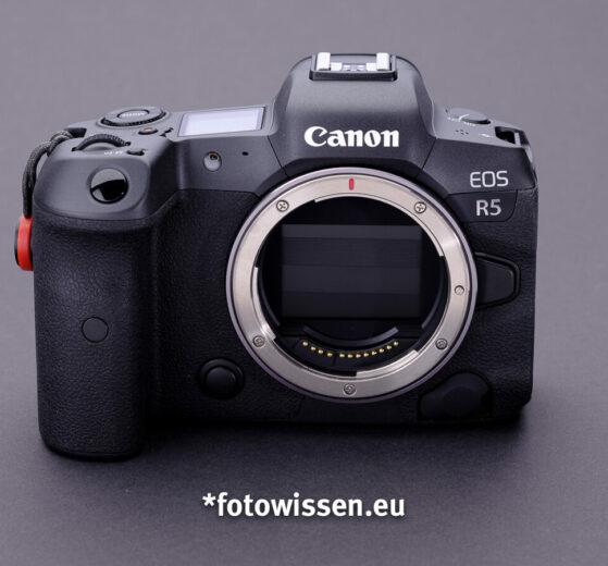 Test Canon EOS R5 Vollformat DSLM